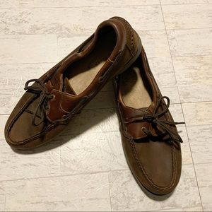 Men's Sperry Leather Top Sider Boat Shoes Mocs